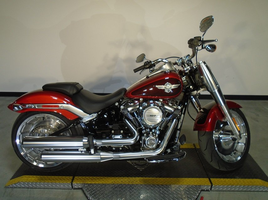 New 2018 Harley-Davidson Softail Fat Boy FLFB Softail in ...