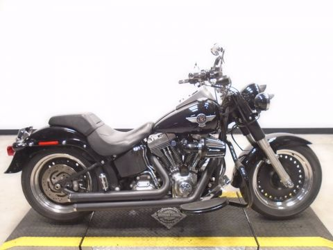 Pre-Owned 2015 Harley-Davidson Softail Fat Boy Lo FLSTFB